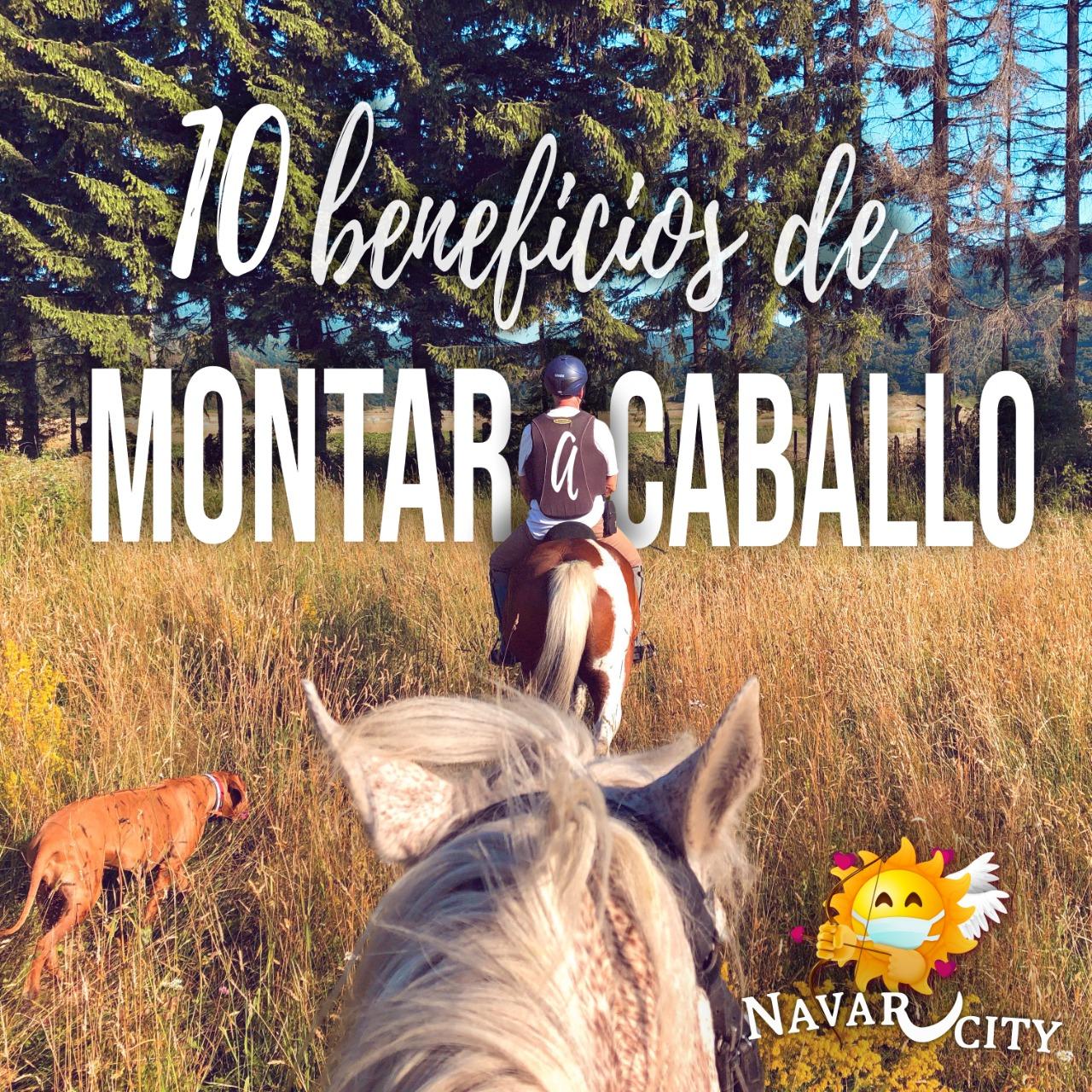 10 Beneficios de montar a caballo